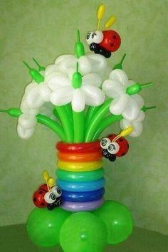 Pin Decor - Just another WordPress site Balloon Flowers, Balloon Bouquet, Balloon Columns, Balloon Arch, Balloon Centerpieces, Balloon Decorations, Ballon Animals, Balloons Galore, Balloon Words
