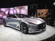 The Q80 Inspiration concept is center stage at the #LAAutoShow.
