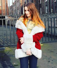 New outfit post on the blog // Santa Coat features heavily even though we are now heading into summer! . . . . . . . . . . . . .  #Instadaily #instagood #photodiary #iphoneography #blogger #fbloggers #fblogger #lblogger #lbloggersuk #lbloggeruk #nebloggers #vintagecoat #copcopine #santacoat #streetstyles #streetstylefashion #blogpost #fashionblog #fashionblogger #ootd #witw #styling #fbloggersuk #fblchat #clothing #thrifter #vintage #streetstyle #remixstyle