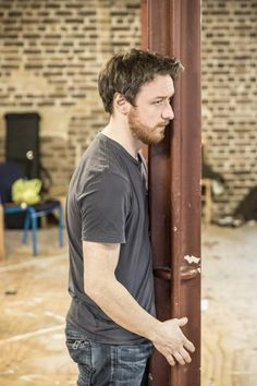 Photo Flash: In Rehearsal for Trafalgar's THE RULING CLASS with James McAvoy!