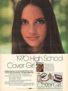 1970s Makeup, Vintage Makeup Ads, Retro Makeup, Vintage Beauty, Vintage Ads, Vintage Perfume, Vintage Glamour, Patti Hansen, Lauren Hutton