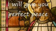 Perfect Peace - Laura Story (lyrics), via YouTube.