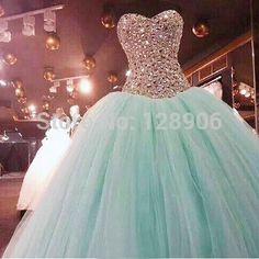 Cheap Quinceanera Dresses, Buy Directly from China Suppliers:New Arrival Mint Green Quinceanera Dress Ball Gowns Sweetheart Beaded Corset Organza Puffy Sweet Quinceanera Dress with