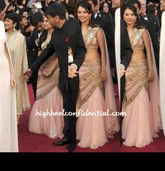 More desi wear at the 2012 Oscars...