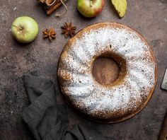"Brown rice, tapioca and sweet white sorghum flours combine to create a ""can't-believe-it's-gluten-free"" Spiced Caramel Bundt Cake from Cooking Light that packs a warm, spicy punch befitting the Halloween season. Apple Bundt Cake Recipes, Apple Recipes, Sweet Recipes, Holiday Recipes, Bread Recipes, Apple Cakes, Fall Recipes, Dessert Recipes, Chocolate Loaf Cake"