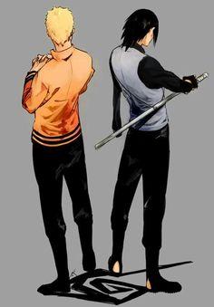 Naruto Uzumaki & Sasuke Uchiha: Best Friends & Rivals