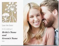 Item # 002 burlap flowers Invitations & Announcements