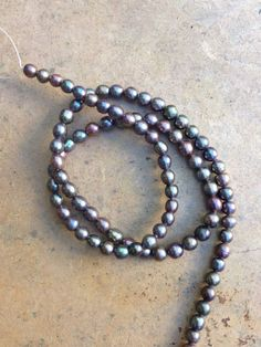 Freshwater Pearl Peacock Oval Round Shaped by marketplacebeads, $7.00 15% off all orders over $100.00