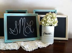 8x10 Shabby Chic Antiqued  Chalkboard by SaturdayMorningLove, $15.00