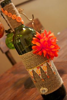 BOO Halloween Wine Bottle By Addisyns on Etsy $15.00