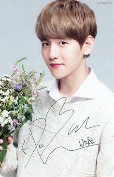 Baekhyun oppa <3 I love him so much <3 He is my 3rd bias,maybe 1st but I don't know.........Everyone in EXO is so cute and handsome so I can't decide <3