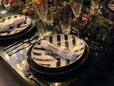 Scott Shuptrine Interiors' luxurious vignette & tabletop design for DIFFA 2014 Charity Event in Detroit