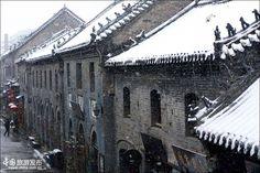 Winter scenery of Zhouzhuang water town - China.org.cn