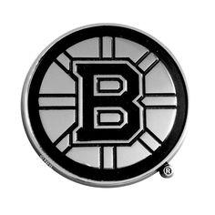 Boston Bruins Chrome Auto Emblem