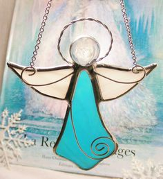 Angel of Blessing by MoreThanColors on Etsy, $28.50