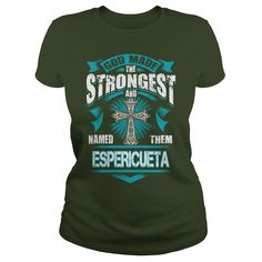 ESPERICUETA, ESPERICUETATshirt If youre lucky to be named ESPERICUETA, then this Awesome shirt is for you! Be Proud of your name, and show it off to the world! #gift #ideas #Popular #Everything #Videos #Shop #Animals #pets #Architecture #Art #Cars #motorcycles #Celebrities #DIY #crafts #Design #Education #Entertainment #Food #drink #Gardening #Geek #Hair #beauty #Health #fitness #History #Holidays #events #Home decor #Humor #Illustrations #posters #Kids #parenting #Men #Outdoors #Photography…