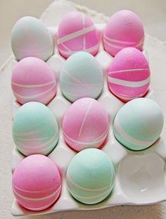 Daddy Cool!: 10+2 Διαφορετικές τεχνικές για να βάψεις τα πασχαλινά αυγα