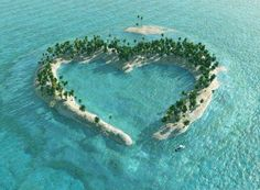 Heart Island in mangrove delta of the Vaza-Barris River, Brazil - Top 14 Places That Worth to be Seen is a little piece of heaven! Heart In Nature, All Nature, Heart Art, Ocean Heart, Nature Images, Beautiful World, Beautiful Places, Beautiful Hearts, Amazing Places
