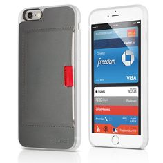 Wally Wallet Case for iPhone 6, genuine leather
