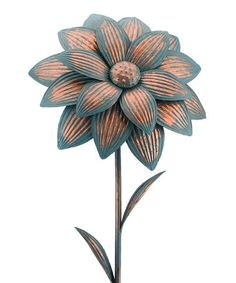 Look at this #zulilyfind! Dahlia Garden Stake #zulilyfinds