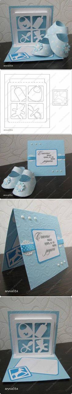 DIY Newborn Card Template DIY Projects / UsefulDIY.com