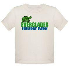 Toddler's organic t-shirt #offwhite #EvergladesHolidayPark
