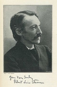 Robert Louis Stevenson has such a warm expression in this photograph Real People, Famous People, Jekyll And Mr Hyde, Essayist, Robert Louis Stevenson, Writers And Poets, If Rudyard Kipling, Famous Words, English Literature