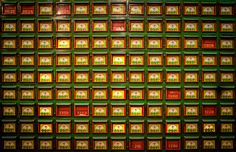 Does anyone know the purpose of these boxes? I found them in a little Buddhist temple along a hillside somewhere in the middle of Hong Kong when I was stumbling about. I tried to guess what they meant… but I'd like to hear what you think! - Hong Kong, China - Photo from #treyratcliff Trey Ratcliff at http://www.StuckInCustoms.com