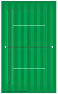 Tennis court printable