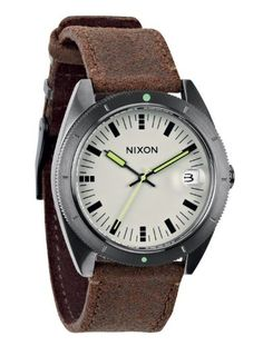 Men's Wrist Watches - Nixon  Rover II  Gunmetal  Brown * Continue to the product at the image link. (This is an Amazon affiliate link)