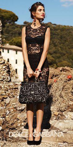 Dolce and Gabbana. So beautiful. I want!!!