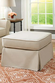 Better Homes And Gardens Slip Cover Pala Ottoman #sweepstakes