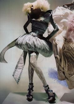 Alexander McQueen editorial  Vogue #alexandermcqueendress
