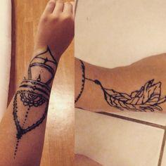 Tatouage au henné #encoreduboulot