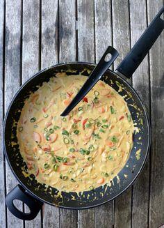 Kreolsk torskegryte - LINDASTUHAUG Recipe Boards, 20 Min, Sugar And Spice, Fish And Seafood, Seafood Recipes, Food To Make, Nom Nom, Food And Drink, Health Fitness