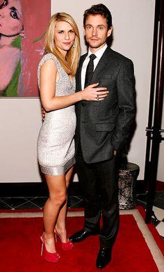 Hugh Dancy And Claire Danes Kiss