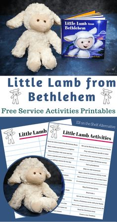 Discover how to bring the Christmas Spirit back into your home with the beautiful Little Lamb of Bethlehem, a Christ-Centered Alternative to Elf on the Shelf. Your Kids can count down to Christmas with a meaningful advent calendar, plus find Free Service Activities Ideas Printable.