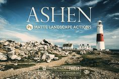 Ashen Photoshop Actions  matte sepiatone effects for by Presetrain