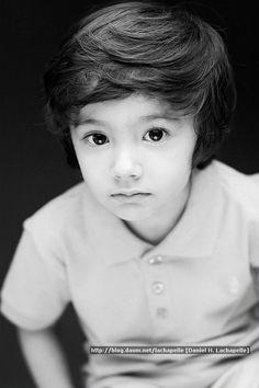 ღ¸.•❤  Daniel Hyunoo LaChapelle ~ #Cute #Asian #Korean #Model #Children #Mixed╰♥╮
