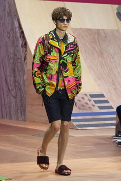 Coach 1941 Spring 2016 Menswear Fashion Show - Serge Rigvava