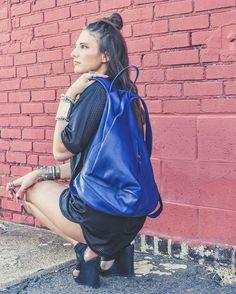#KATIA backpack   #indigo   #bohemian #boho #stickstoneslifestyle #stickstones #gypsy #jewelry #statementjewelry #bracelets #cuffs #rings #leatherbackpack #bohemianstyle #goddess #designer #handcrafted #handmade