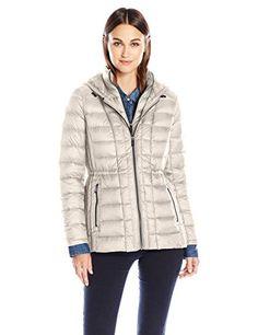 1b08f3362a7e London Fog Women s Packable Down W Removable Hood at Amazon Women s Coats  Shop