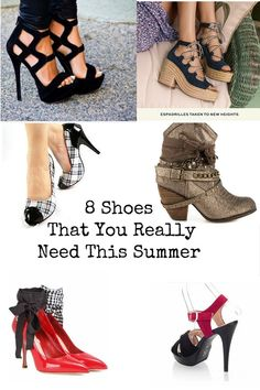 8 Shoes That You Really Need This Spring/Summer 2016 #life #fashion #trends…