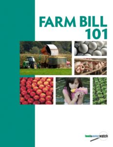 "Wondering what people are talking about when they talk about the ""Farm Bill""? Here's some information for you!"