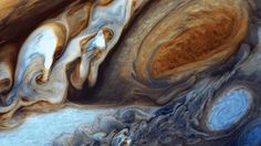 Voyager 1 image of Jupiter's Great Red Spot. NASA/JPL