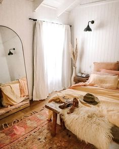 Four Palms Hacienda Byron Bay ( California Bedroom, Bedroom Orange, Luxury Bedding Collections, Pink Bedding, Pink Rug, Bedroom Styles, Boho, Room Inspiration, Bedroom Decor