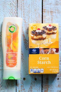 corn starch and conditioner