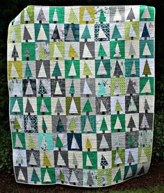 Throughout last year's Christmas rush, I saw oodles of folks making a Patchwork Forest quilt, and I admired them all. That led to me impul...