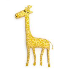 Gerald the Giraffe Lambswool Plush - Made to order. $48.00, via Etsy.