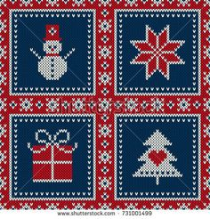 Find Christmas Sweater Design Seamless Knitting Pattern stock images in HD and millions of other royalty-free stock photos, illustrations and vectors in the Shutterstock collection. Free Crochet Snowflake Patterns, Tapestry Crochet Patterns, Chunky Knitting Patterns, Knitting Charts, Free Knitting, Ribbon On Christmas Tree, Christmas Trees, Christmas Design, Snowflake Images